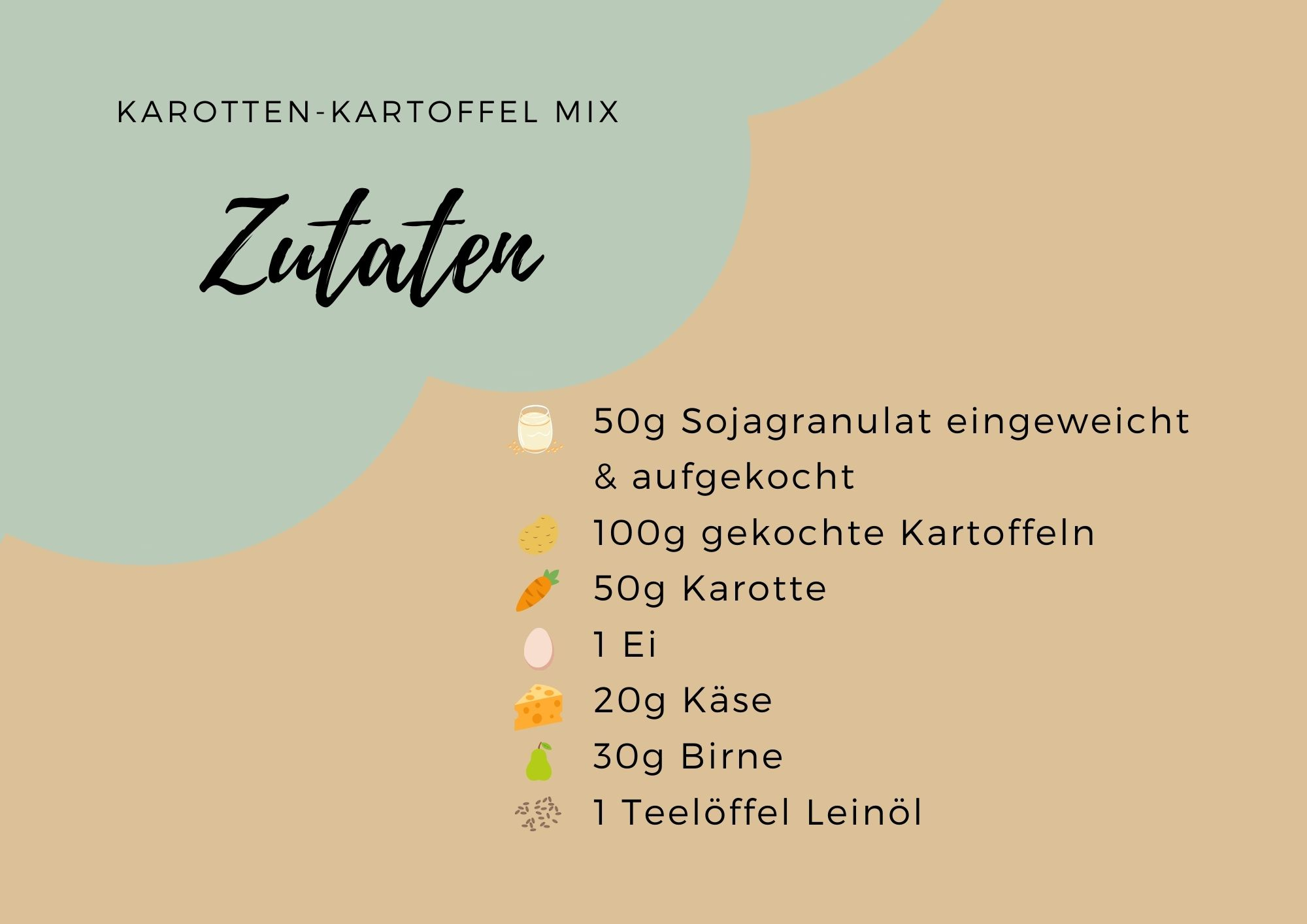 Karotten-Kartoffel mix