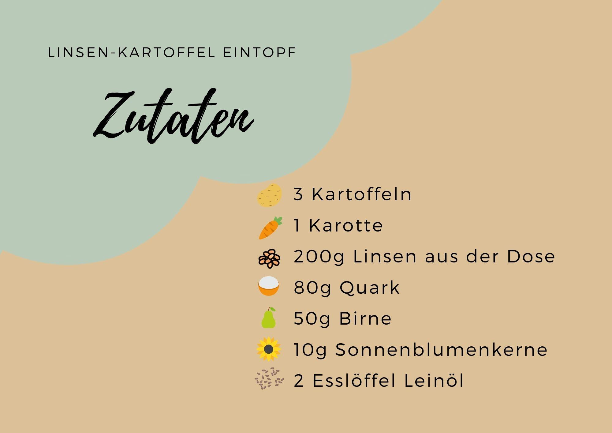 Linsen-Kartoffel Eintopf!