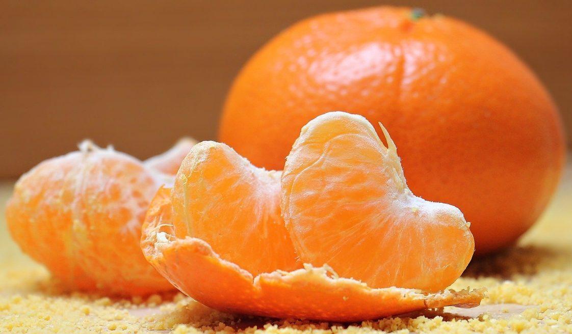 Mandarine für Hund